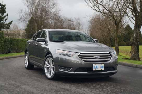 2013 Ford Taurus SEL 2 0L Ecoboost Road Test Review
