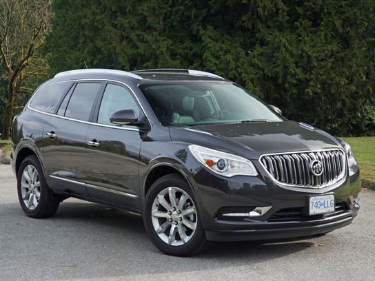 2013 buick enclave premium awd road test review | carcostcanada