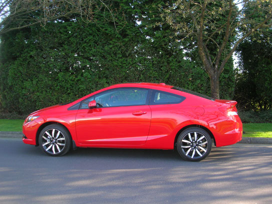 2013 honda civic coupe ex l navi road test review. Black Bedroom Furniture Sets. Home Design Ideas
