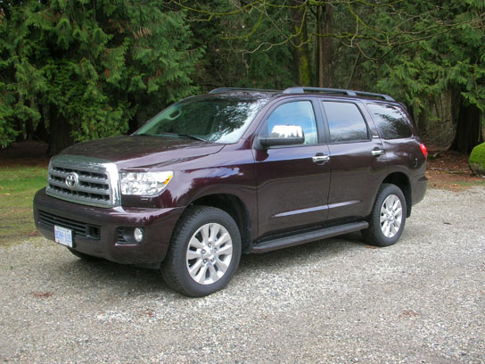 2013 toyota sequoia platinum road test review carcostcanada. Black Bedroom Furniture Sets. Home Design Ideas
