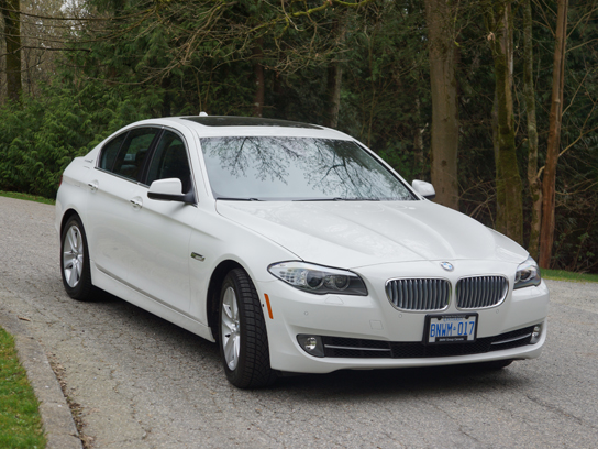 2013 Bmw Activehybrid 5 Road Test Review Carcostcanada