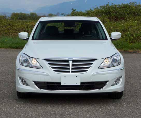 2013 Hyundai Genesis Sedan 3.8 Premium Road Test Review
