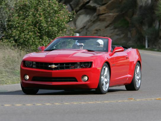 2013 Chevrolet Camaro Convertible 2lt Road Test Review