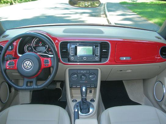 2013 volkswagen beetle convertible road test review. Black Bedroom Furniture Sets. Home Design Ideas