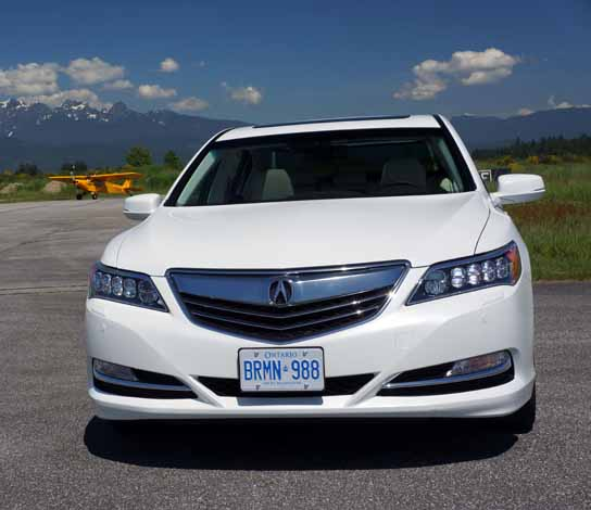 Acura Rlx: 2014 Acura RLX Road Test Review
