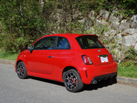 2013 Fiat 500 Turbo Road Test Review Carcostcanada
