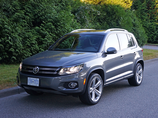 2013 volkswagen tiguan r line road test review carcostcanada. Black Bedroom Furniture Sets. Home Design Ideas