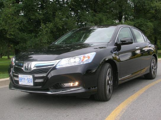 2014 Honda Accord Plug In Hybrid Road Test Review Carcostcanada