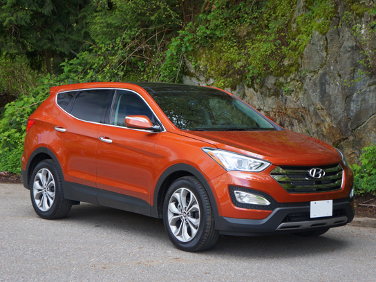 2013 Hyundai Santa Fe Sport 2 0t Awd Limited Road Test Review