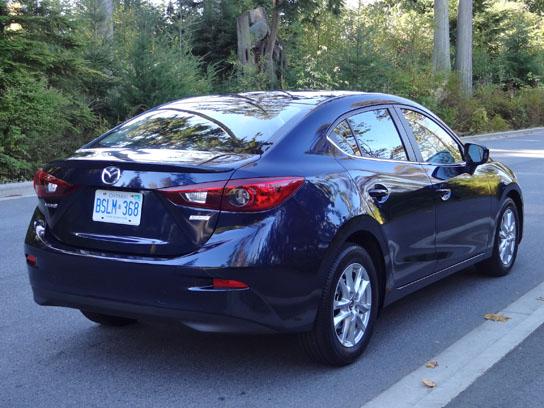 2014 mazda3 gs sedan road test review | carcostcanada