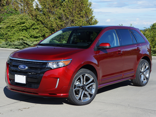 2013 ford edge sport road test review | carcostcanada