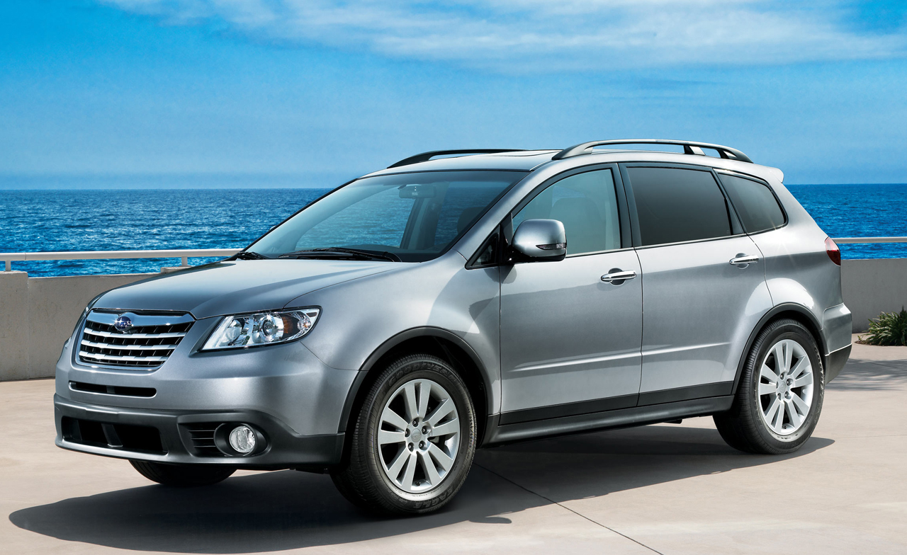 subaru to axe seven passenger tribeca suv after 2014 carcostcanada. Black Bedroom Furniture Sets. Home Design Ideas