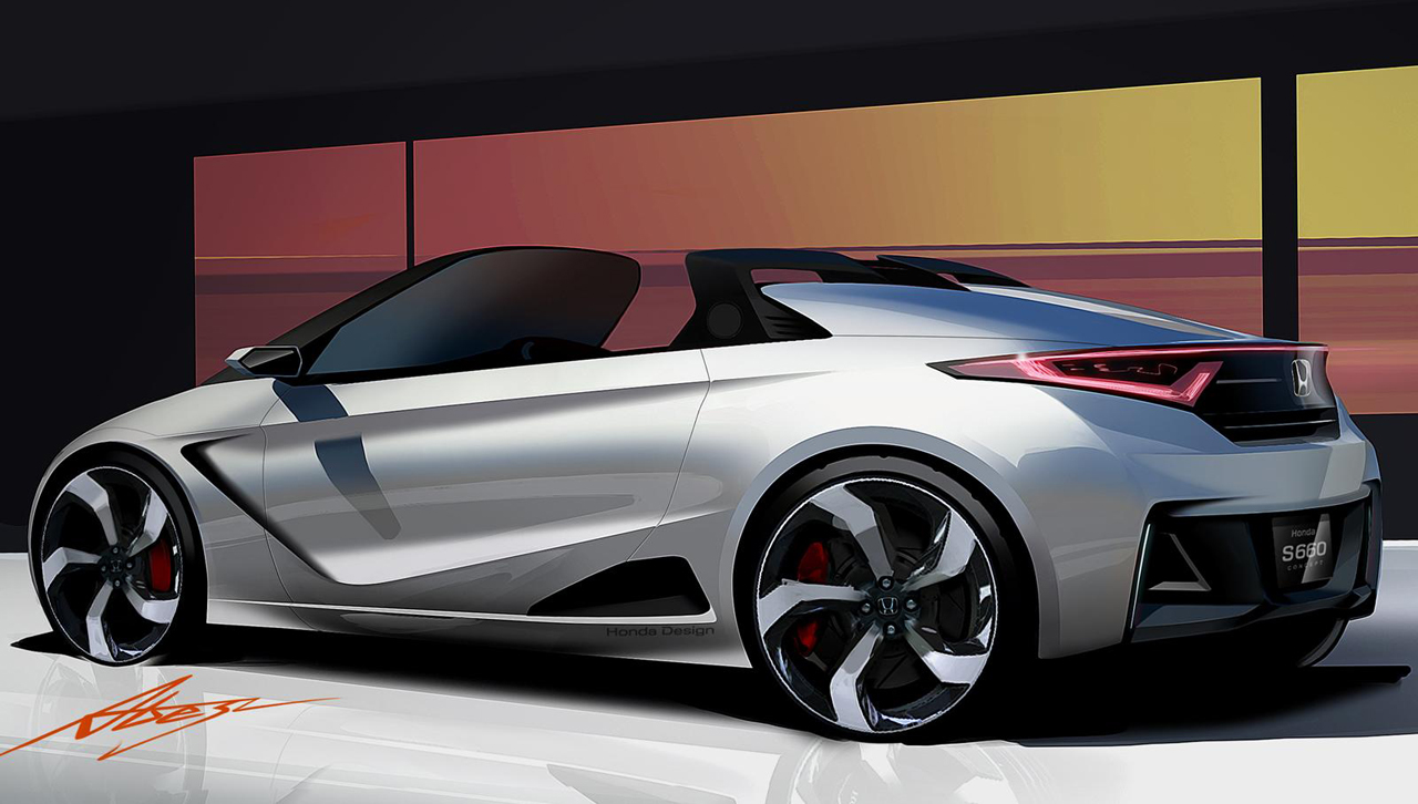 Honda S660 Roadster Concept Revealed Ahead Of Upcoming Tokyo Motor
