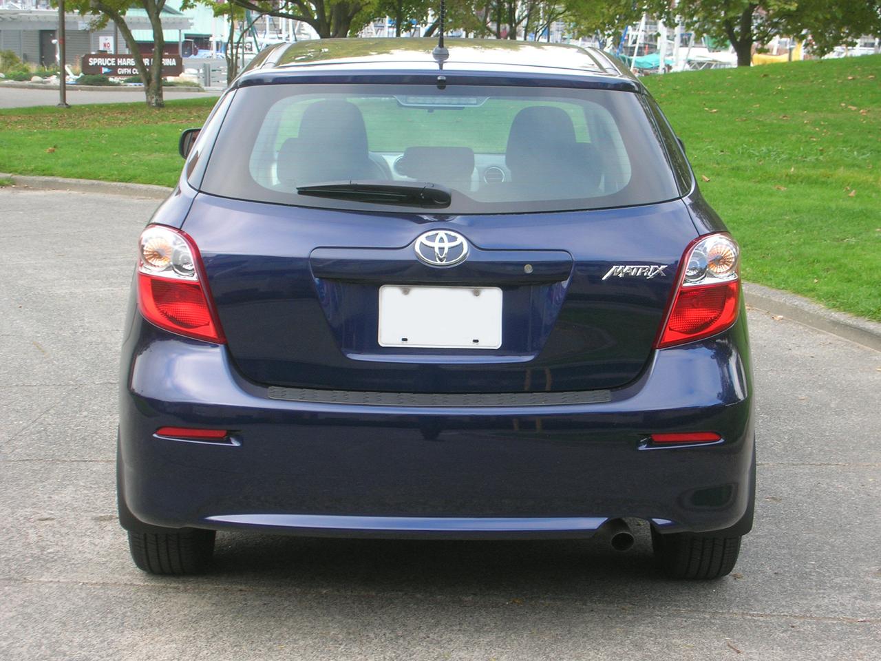 2014 Toyota Matrix Road Test Review Carcostcanada