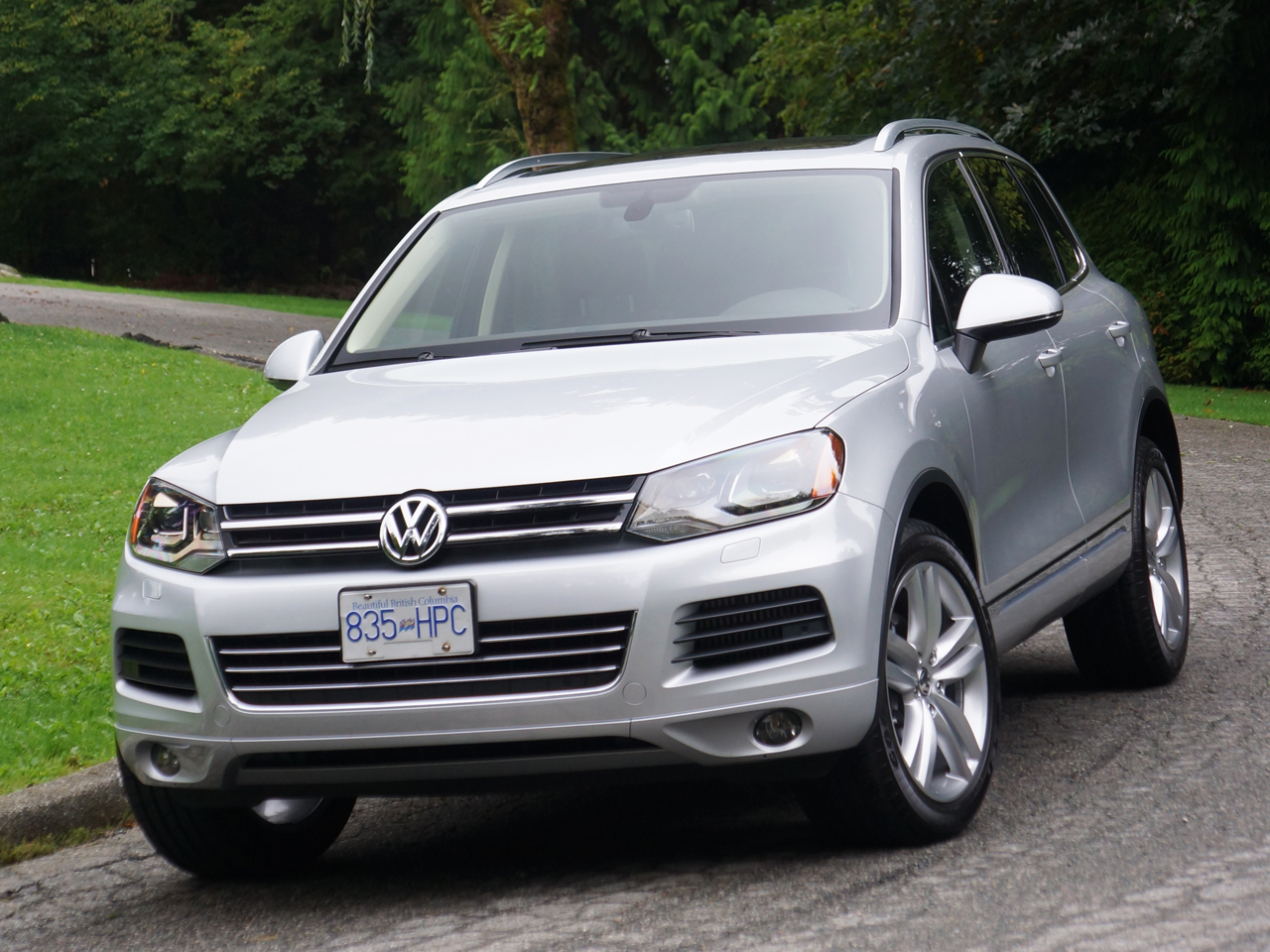 2017 Volkswagen Touareg Tdi Road Test Review