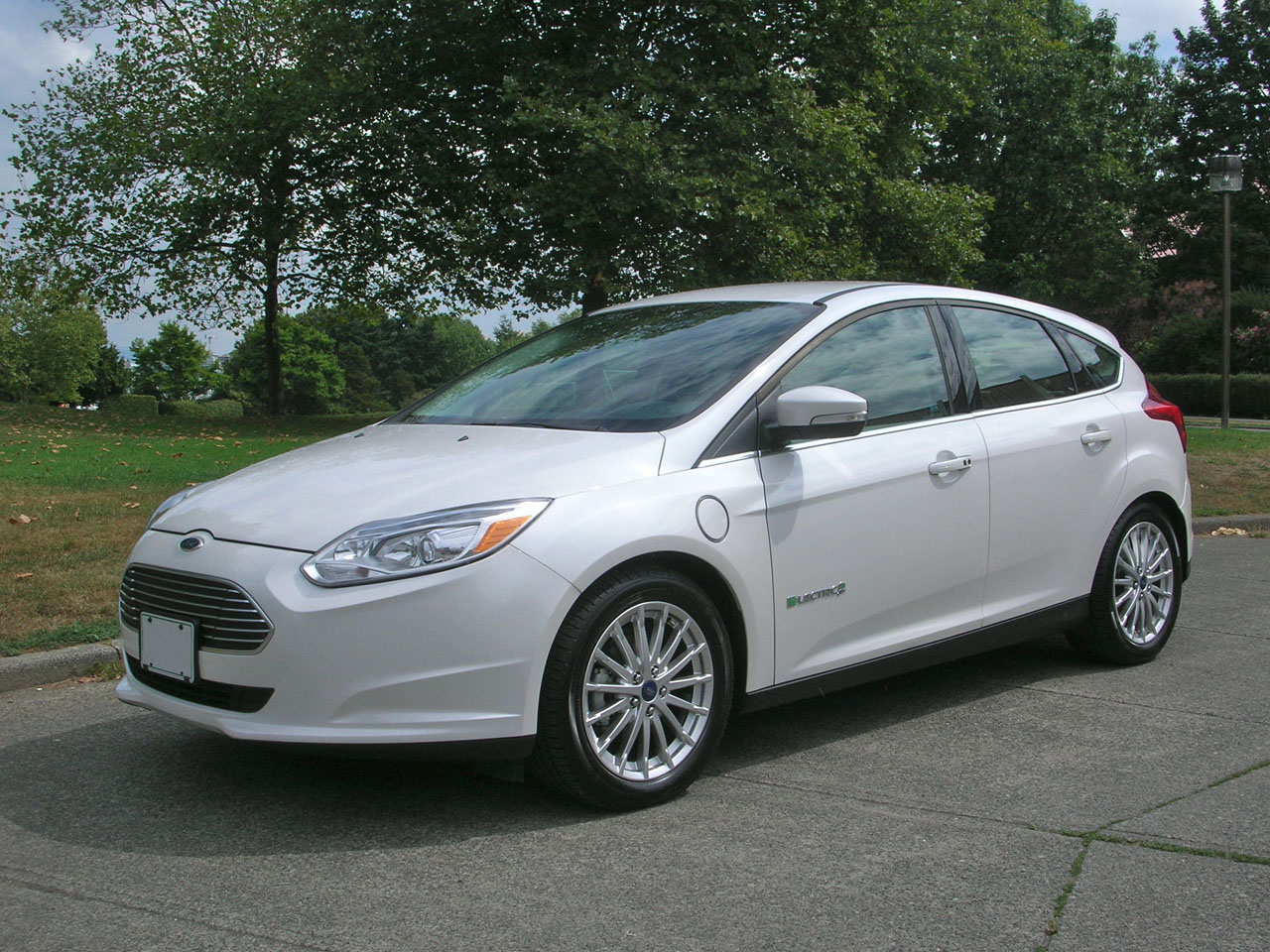 Ford Focus Electric Car Canada