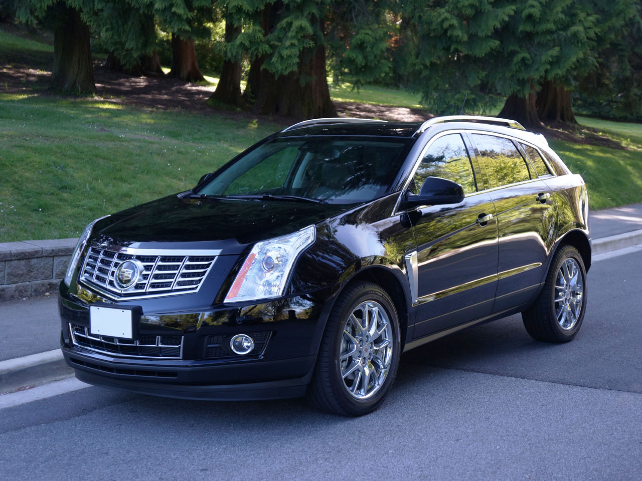 with system premium cadillac srx seat view suv entertainment news side fwd to rear adds cue