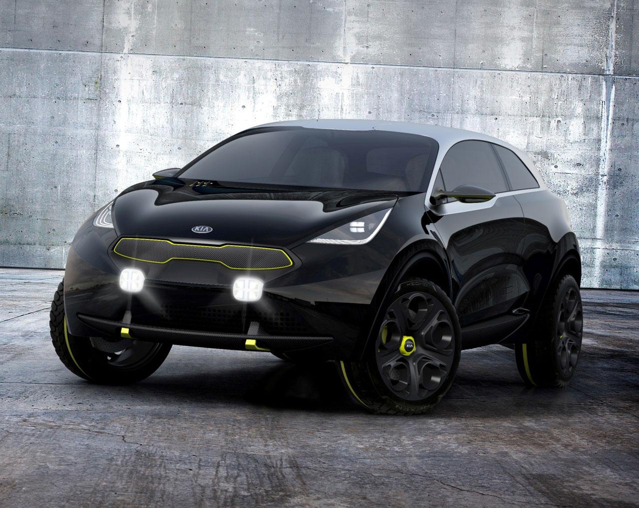 Cool Kia Niro Concept Makes North American Debut CarCostCanada - Cool kia cars