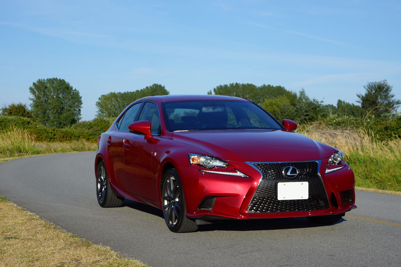 2014 lexus is 350 awd f sport road test review carcostcanada. Black Bedroom Furniture Sets. Home Design Ideas