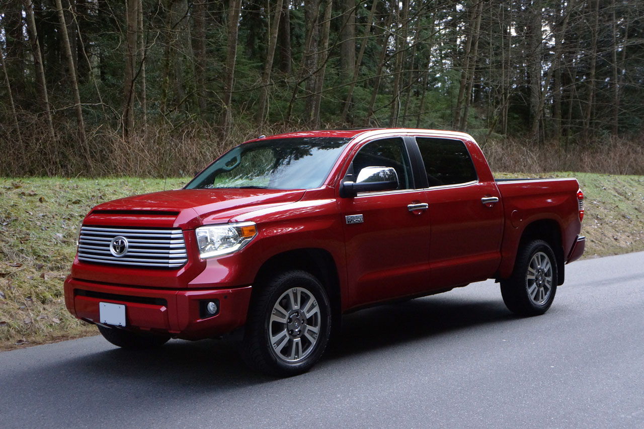 Half Ton Truck >> 2014 Toyota Tundra CrewMax Platinum Road Test Review ...
