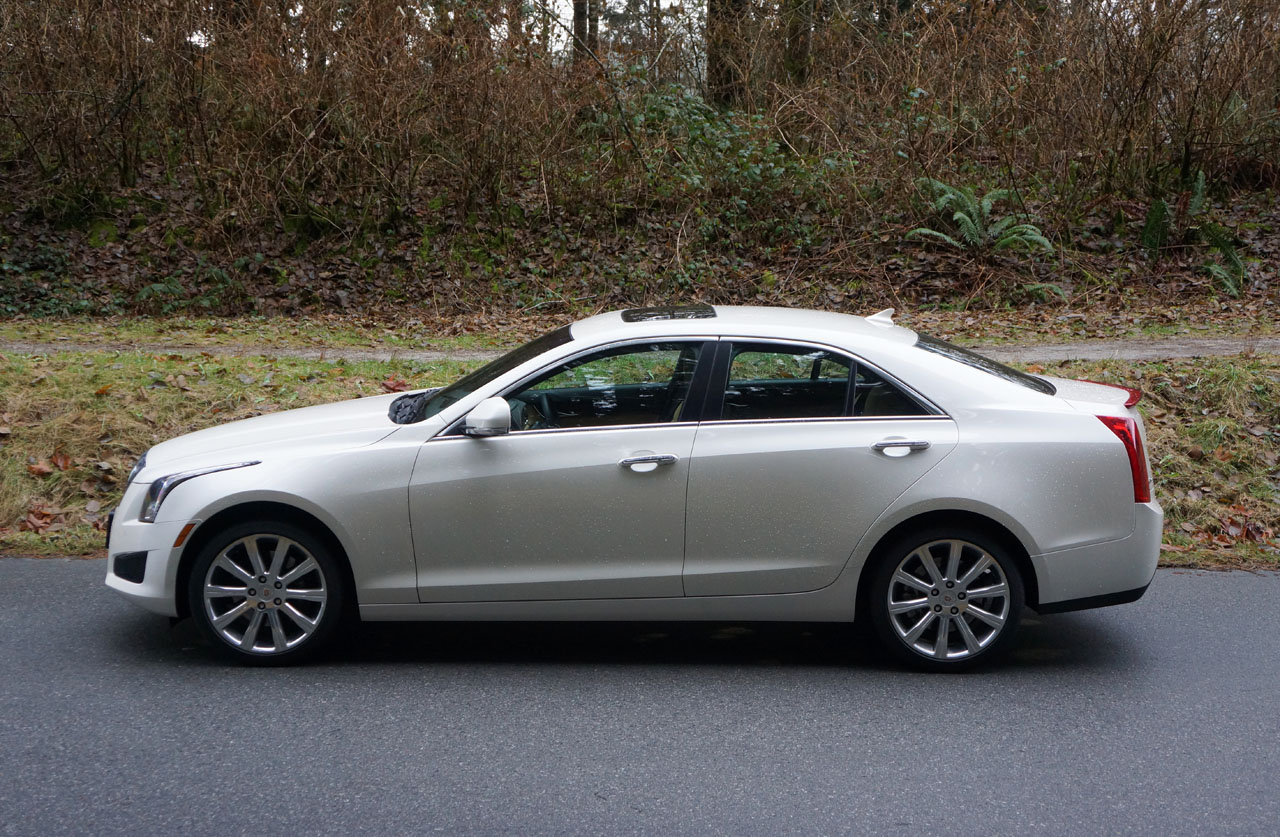 2014 Cadillac ATS 3.6L Luxury AWD Road Test Review | CarCostCanada
