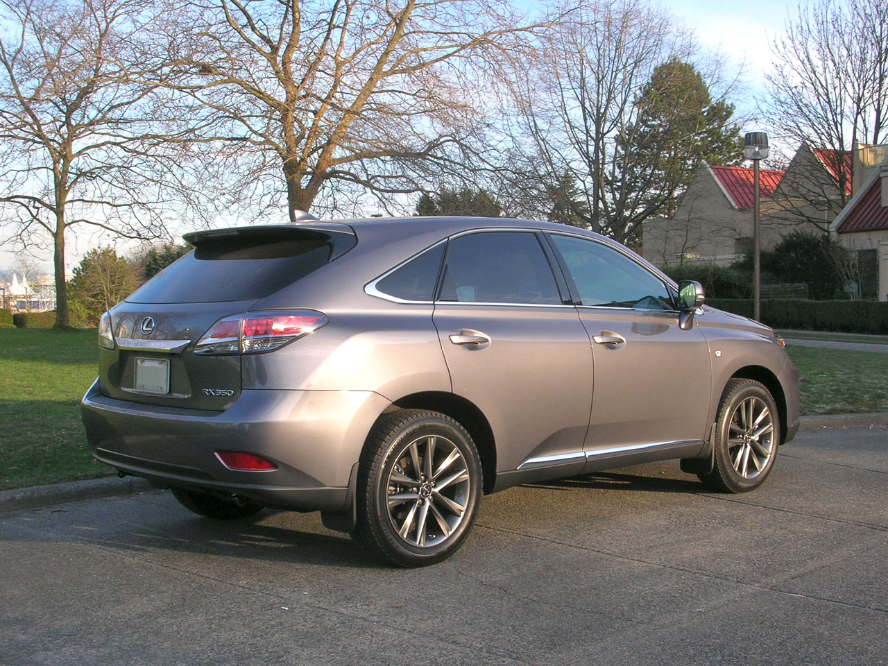 2014 lexus rx 350 f sport road test review carcostcanada. Black Bedroom Furniture Sets. Home Design Ideas