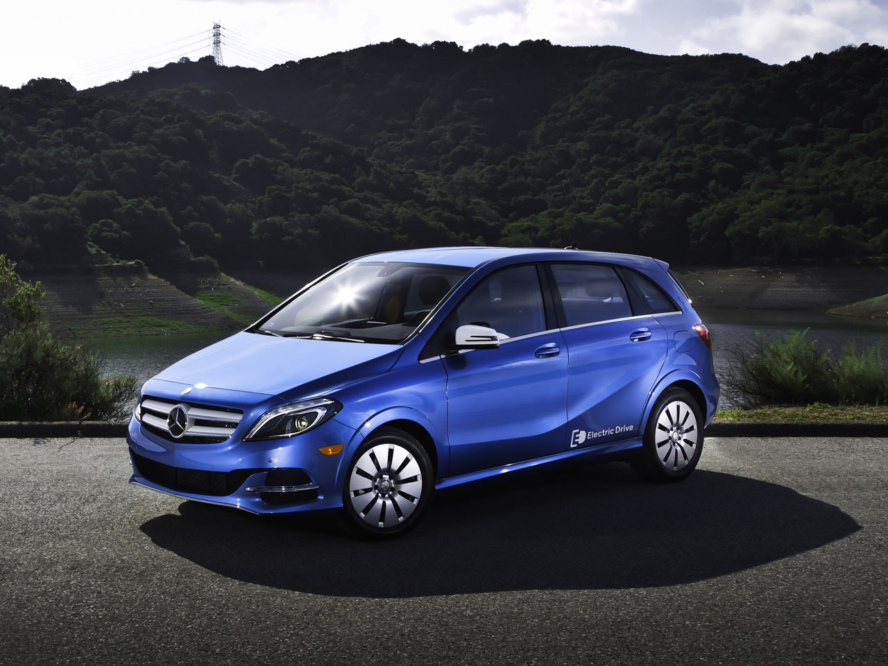 2014 Mercedes Benz B Class Electric Drive Road Test Review