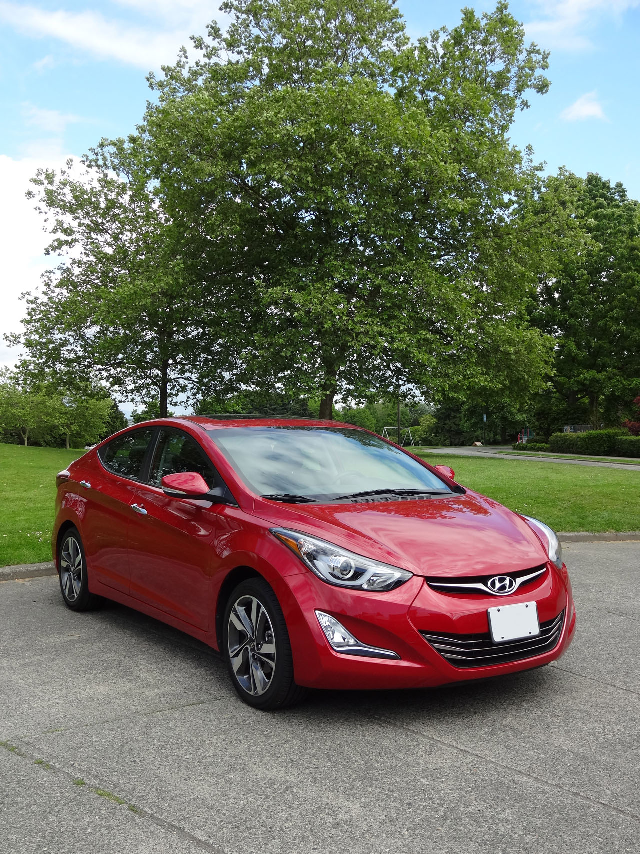 2014 Hyundai Elantra Limited Road Test Review Carcostcanada