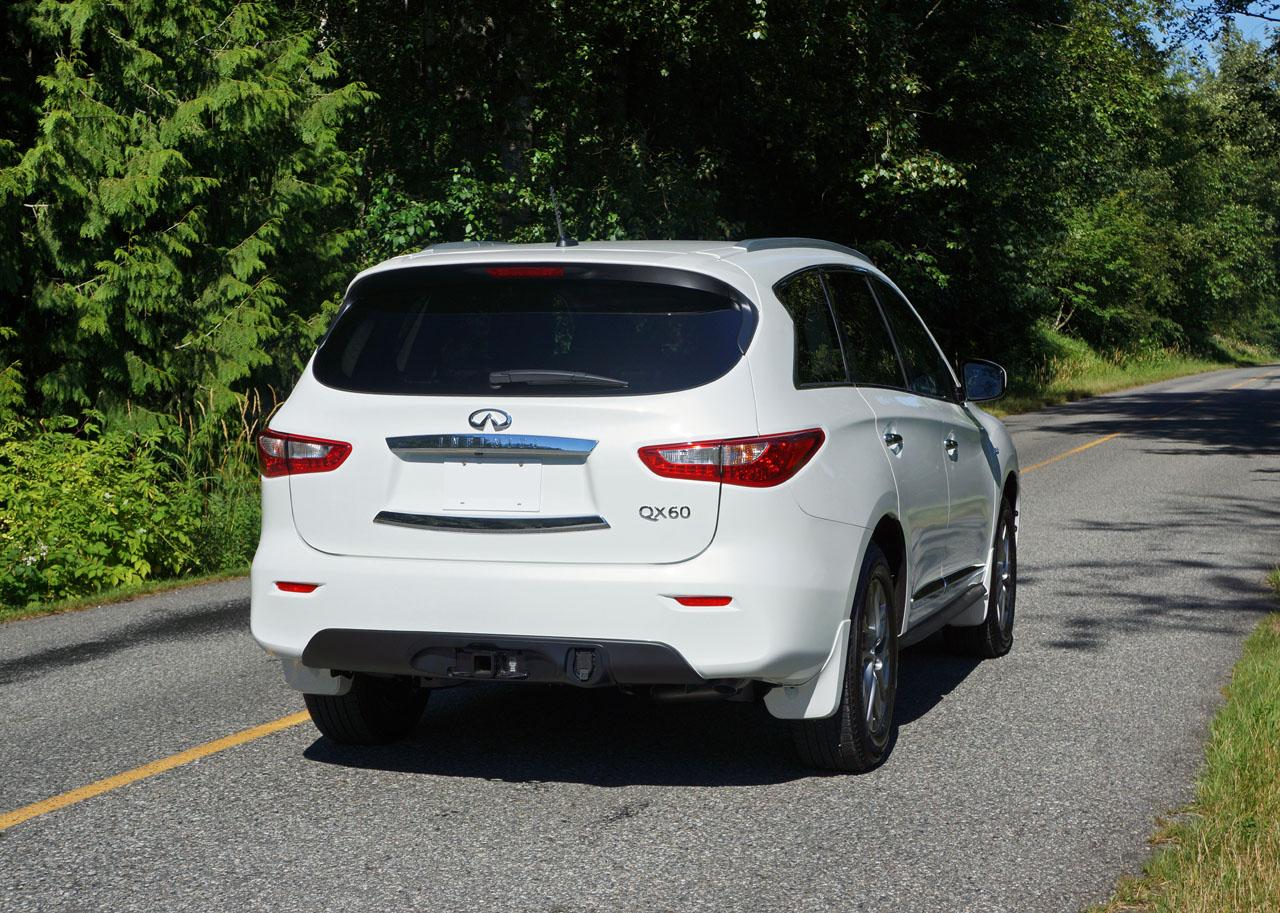 Infiniti QX AWD Road Test Review CarCostCanada - Infiniti qx60 invoice price