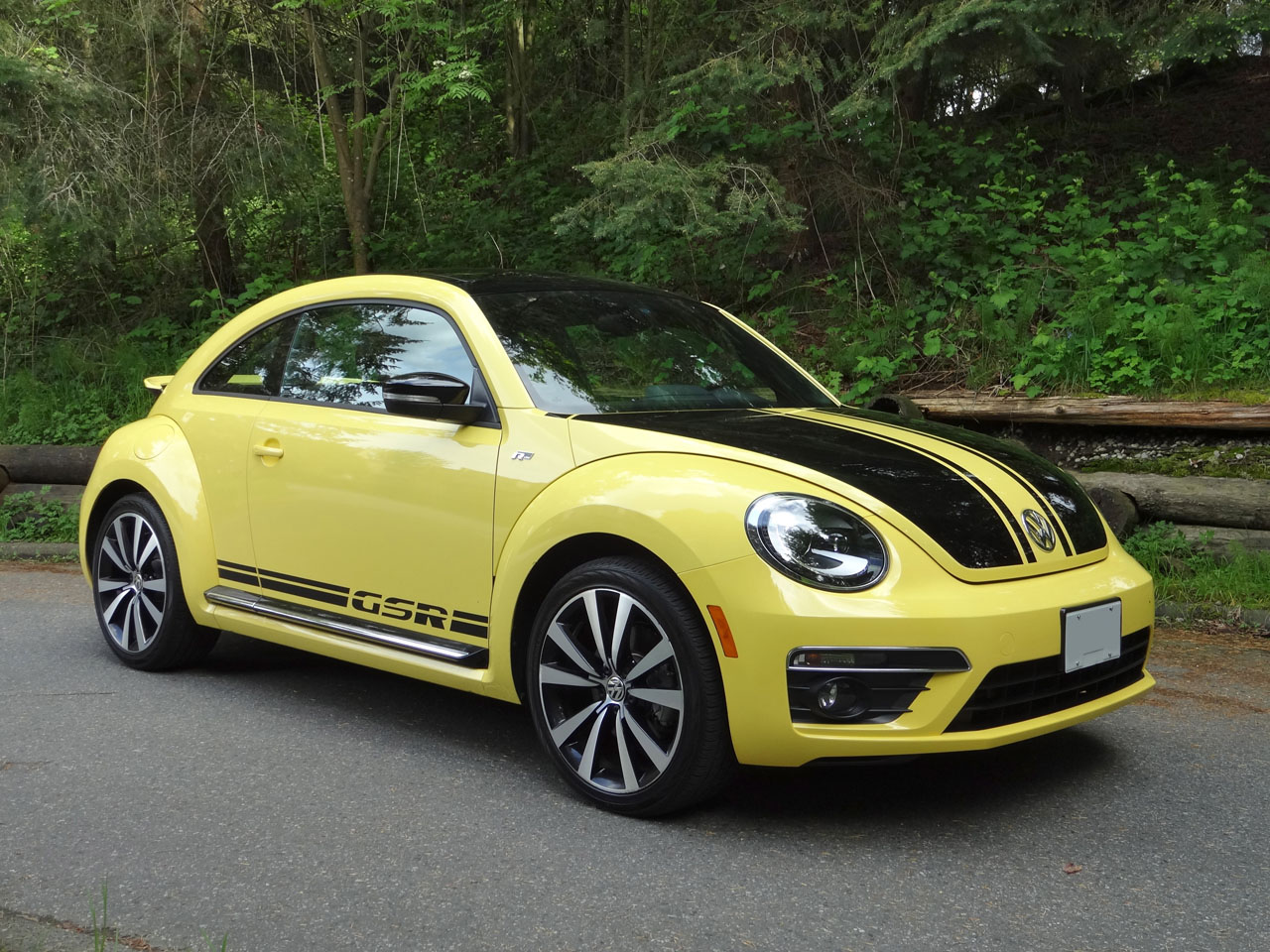 quarter beetle test review motor three dune yellow first in motion front convertible cars volkswagen trend