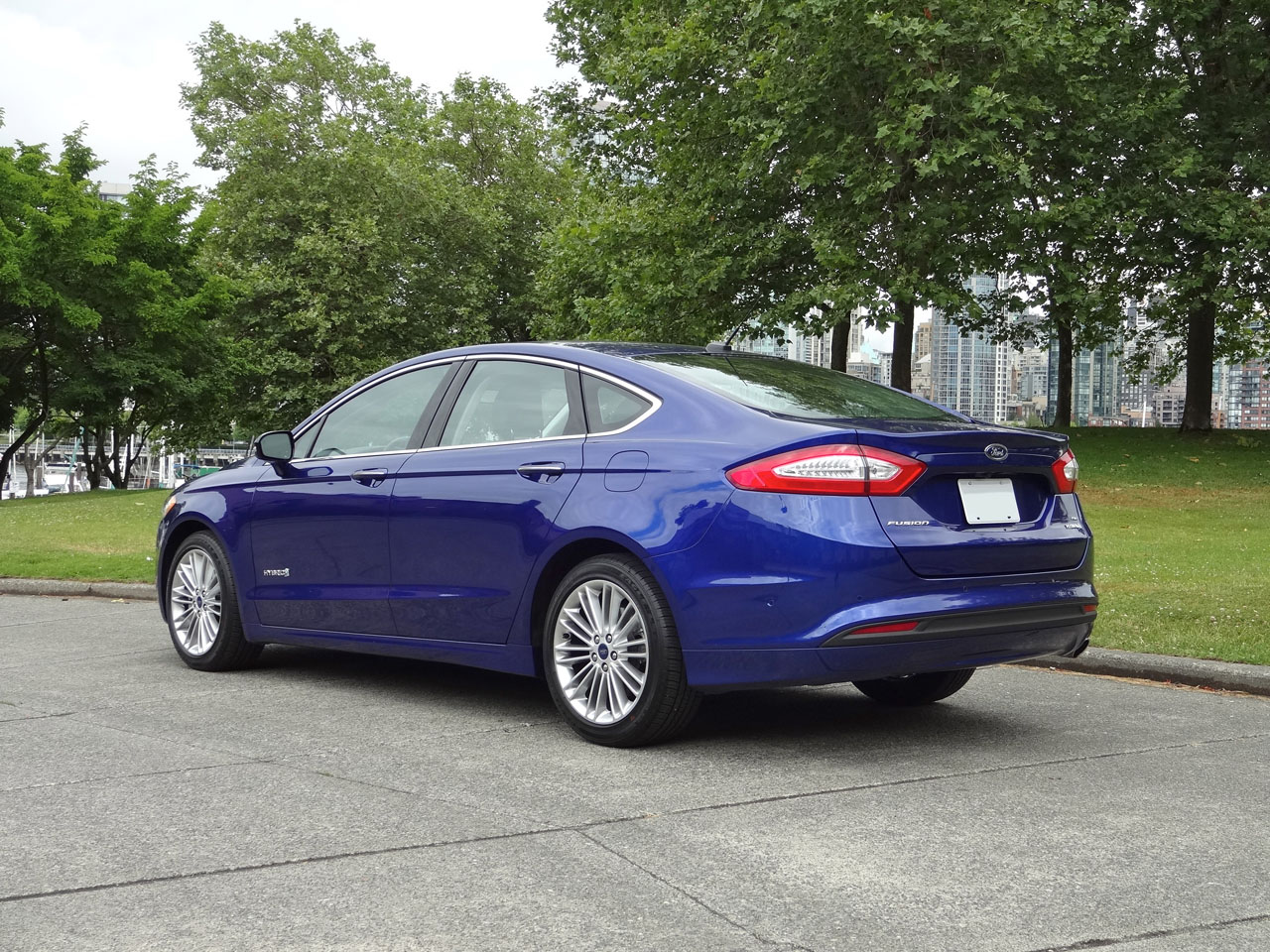 Ford Fusion Hybrid Road Test