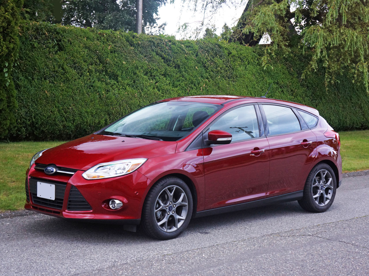 2014 Ford Focus Se Hatchback Road Test Review Carcostcanada Suspension