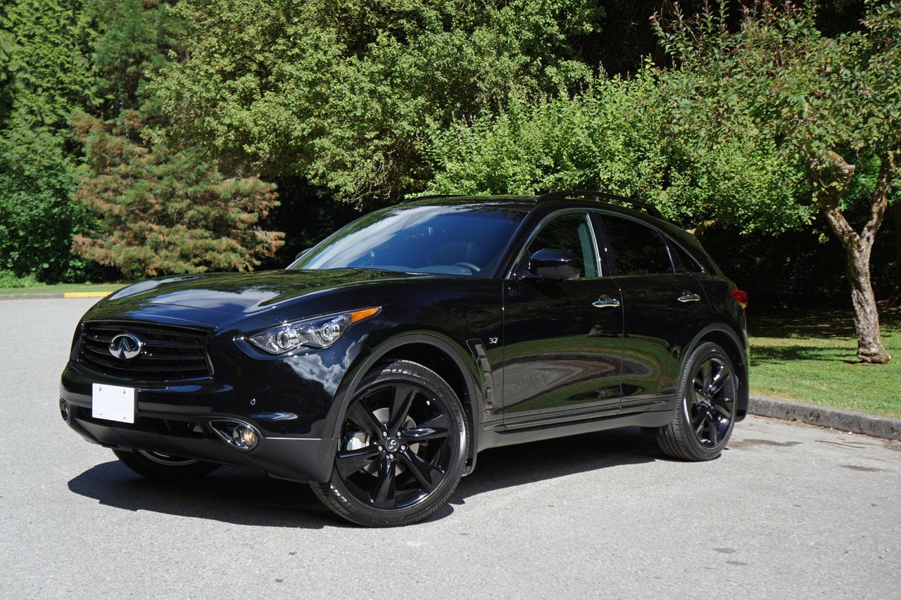 Black Qx70 >> 2015 Infiniti Qx70 Sport Road Test Review Carcostcanada