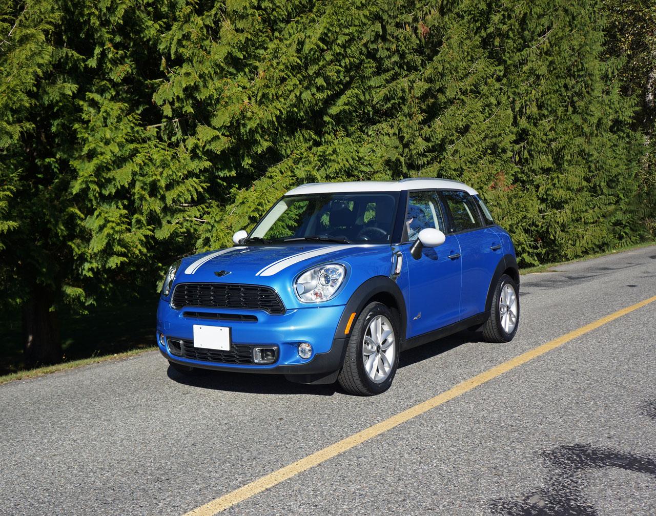 Mini mini cooper crossover : 2014 Mini Cooper S ALL4 Countryman Road Test Review | CarCostCanada