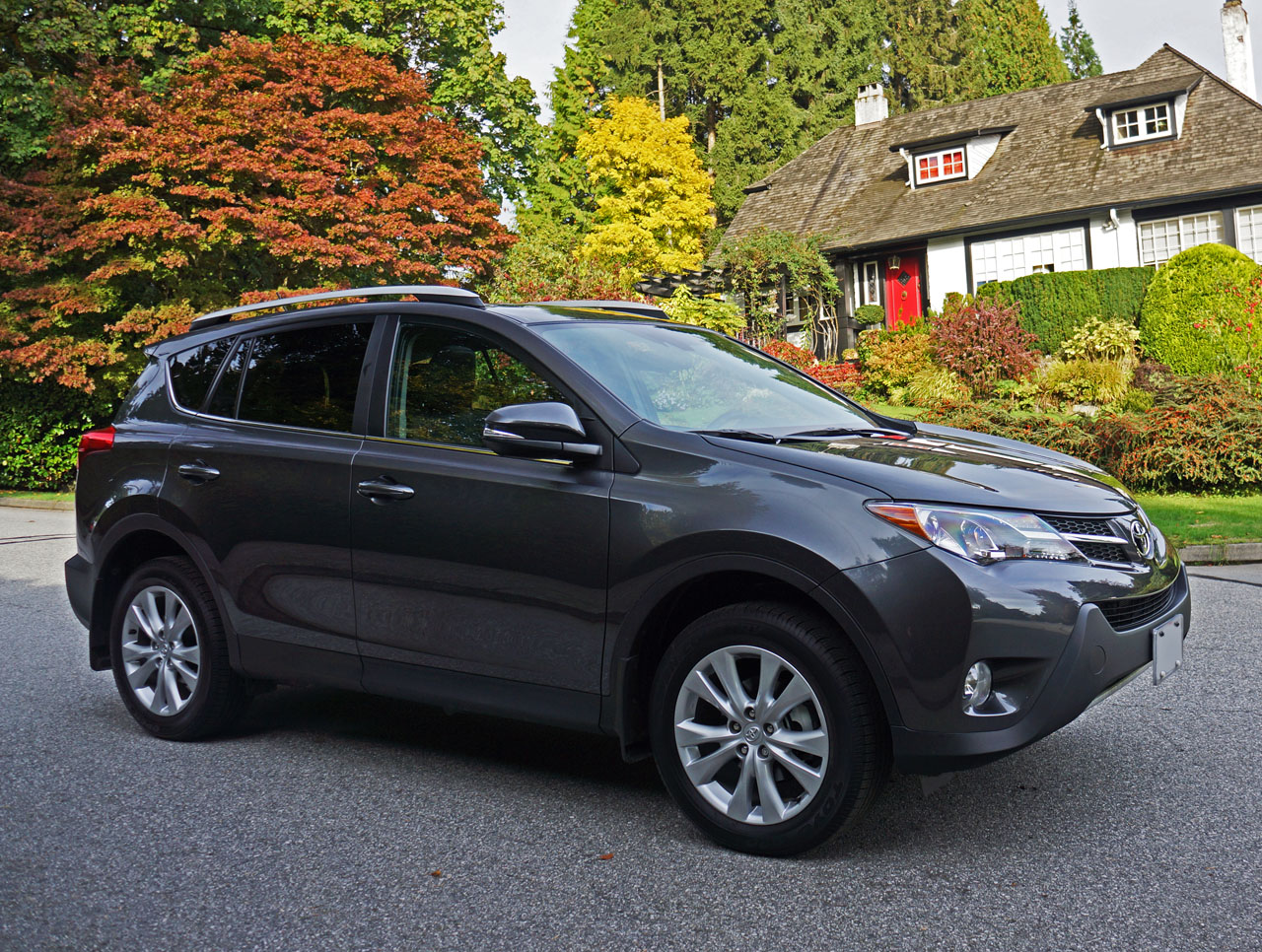2015 Toyota Rav4 Awd Limited Road Test Review Carcostcanada
