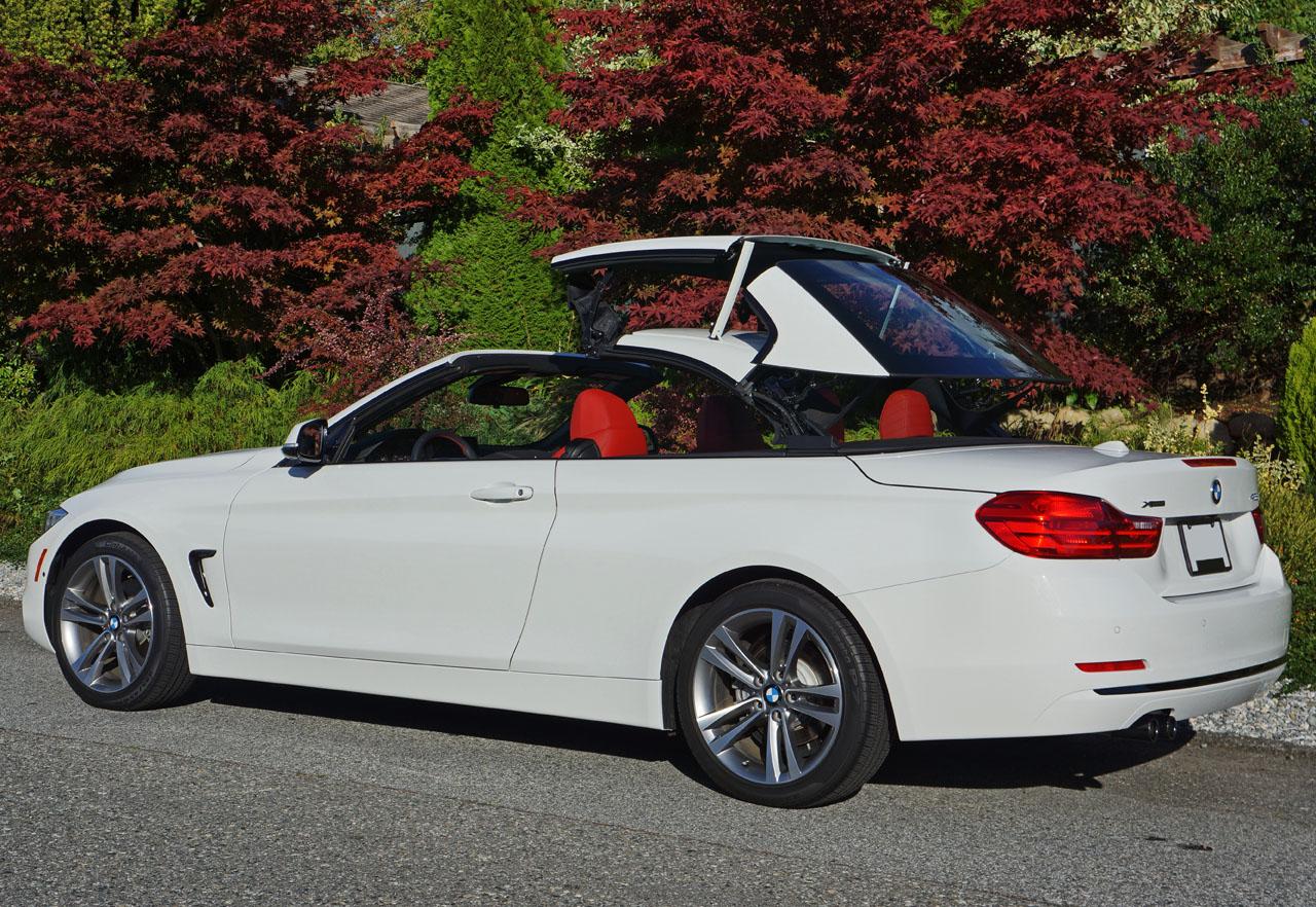 BMW 428I Convertible >> 2014 Bmw 428i Xdrive Cabriolet Road Test Review Carcostcanada