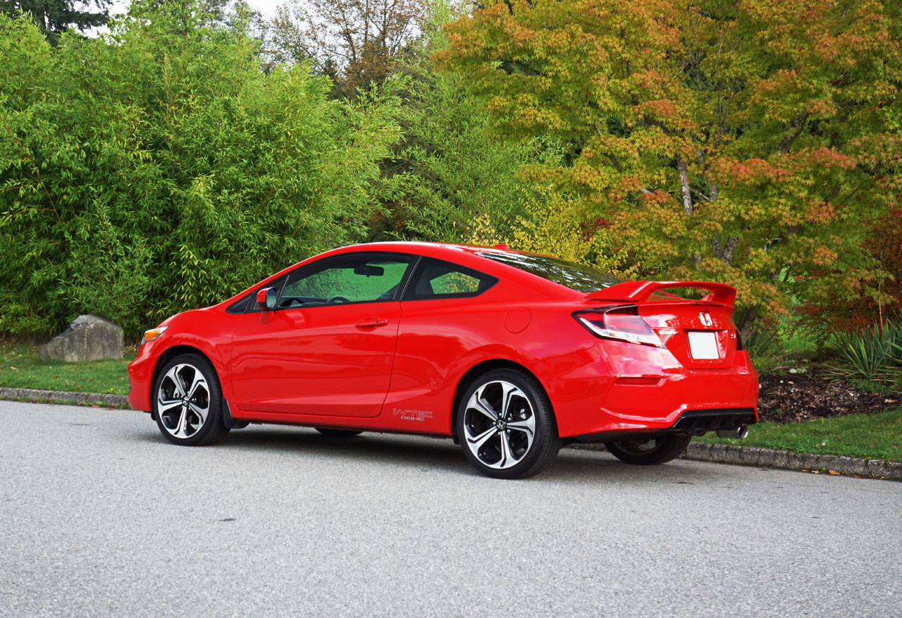 2015 honda civic coupe si road test review carcostcanada. Black Bedroom Furniture Sets. Home Design Ideas