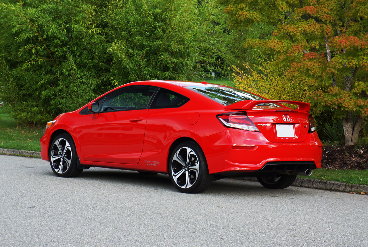 2015 honda civic coupe si road test review carcostcanada for Honda civic si 2015 specs