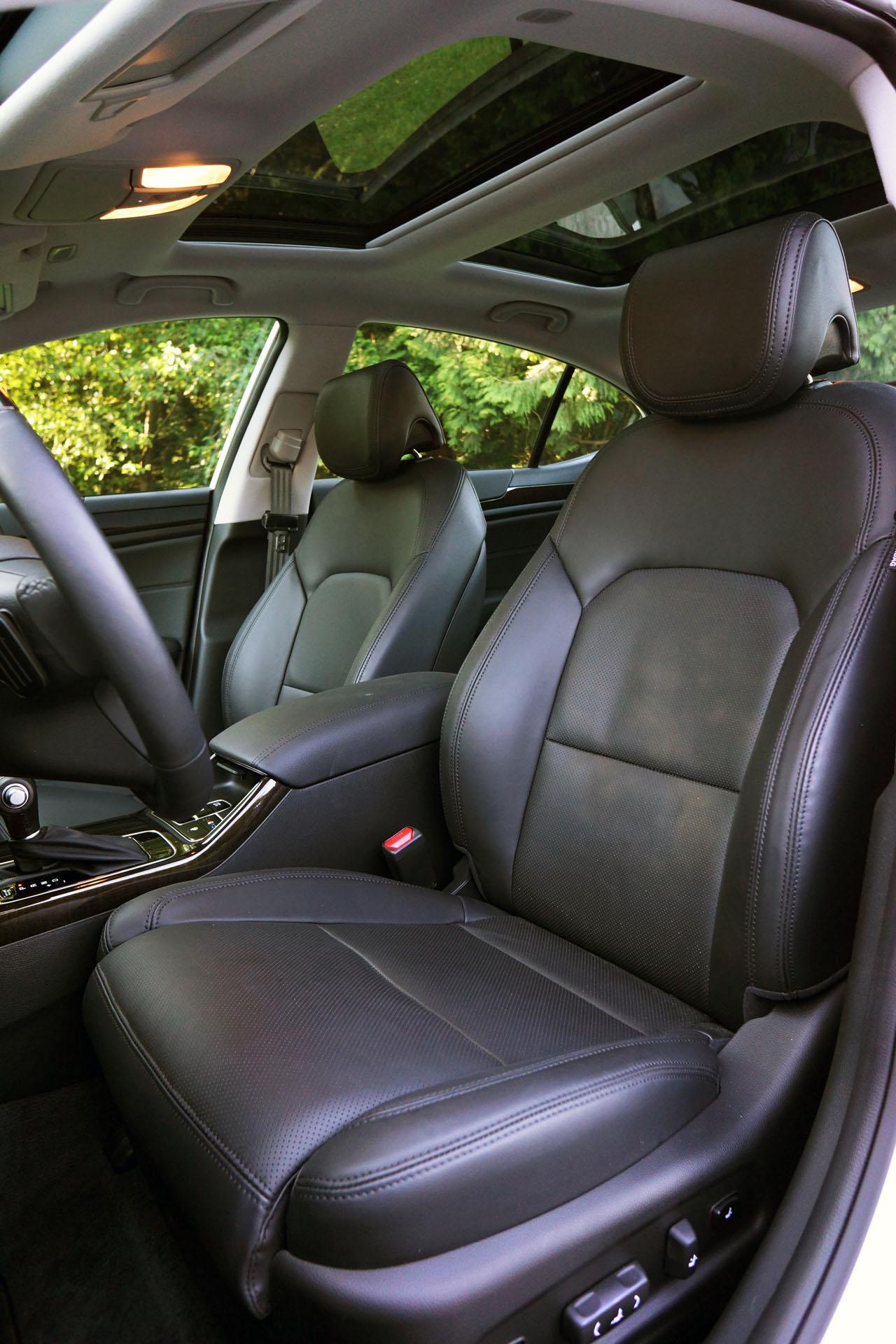 2014 Kia Cadenza Premium Road Test Review Carcostcanada