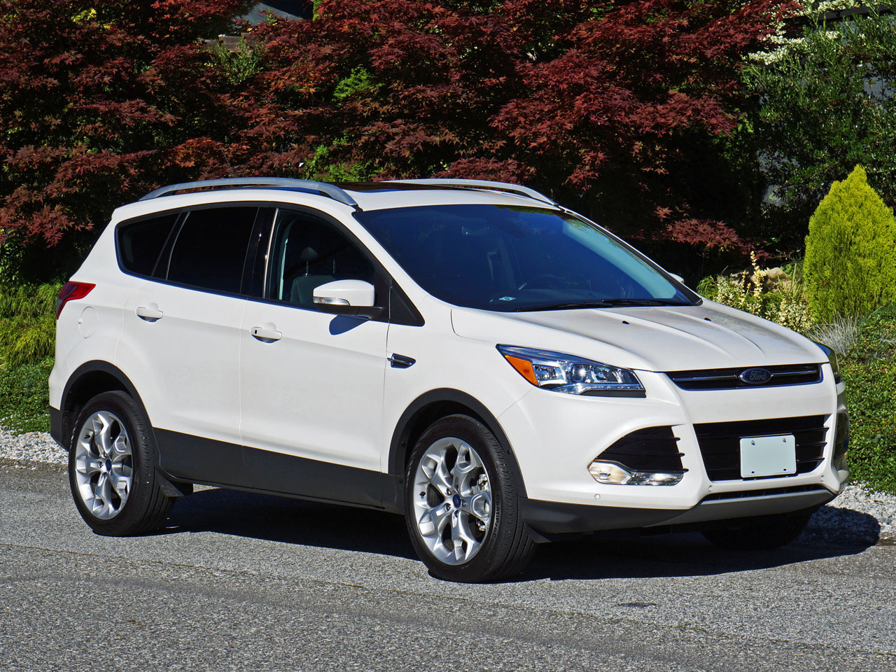 2014 ford escape titanium awd road test review carcostcanada