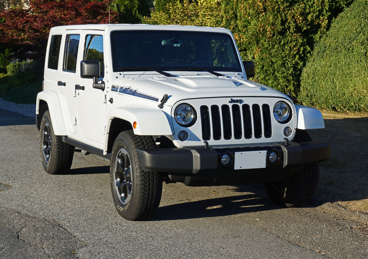 2014 jeep wrangler unlimited polar edition road test review carcostcanada