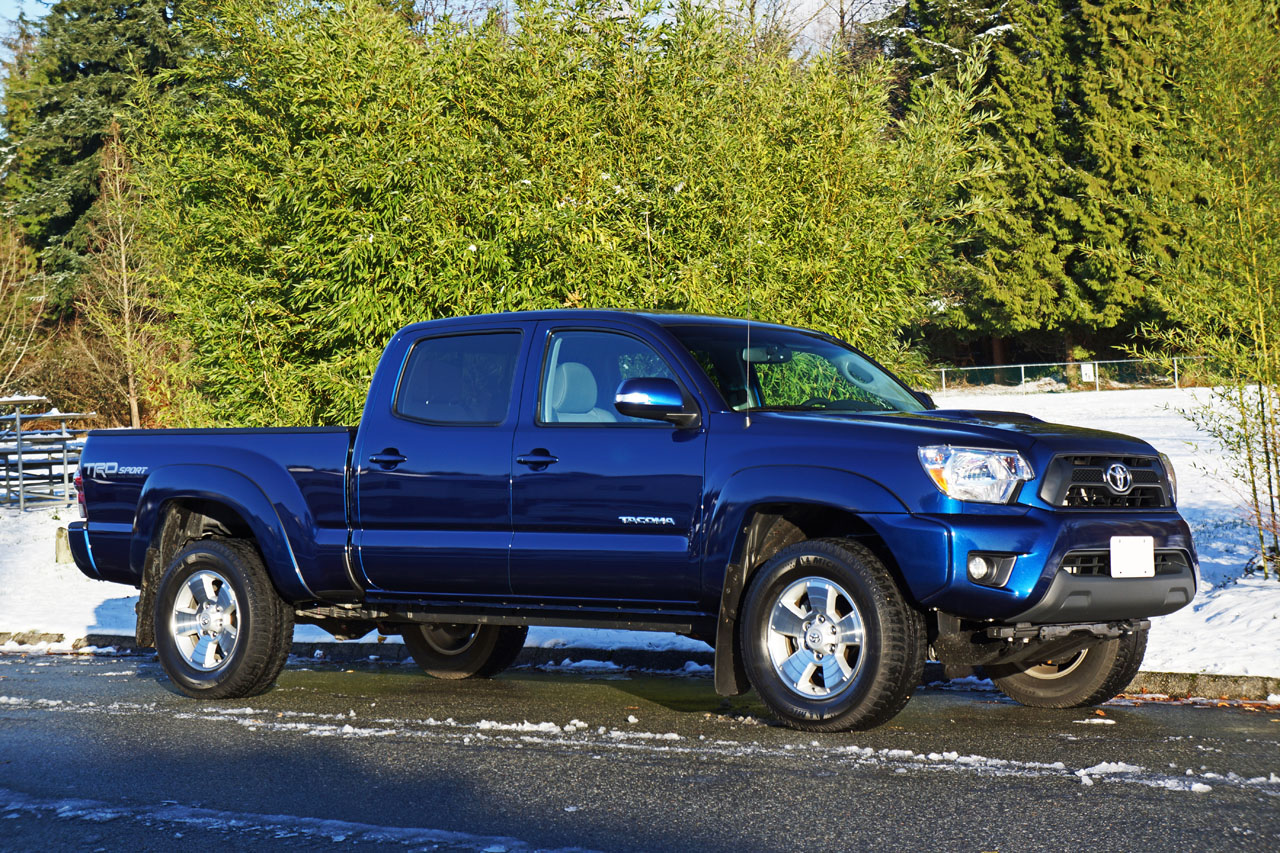 2015 Toyota Tacoma 4x4 Double Cab V6 Trd Sport Road Test