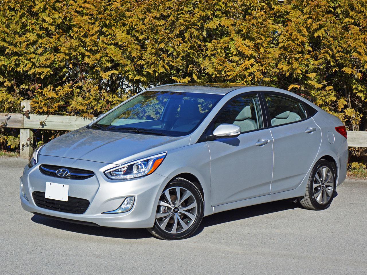 Hyundai Accent Reviews >> 2015 Hyundai Accent Sedan Gls Road Test Review Carcostcanada