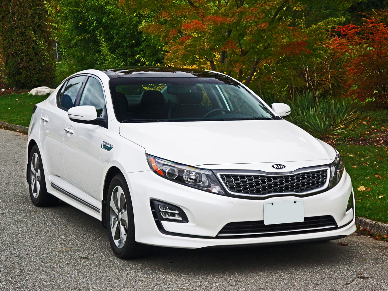 optima hybrid kia expert drive test review chase chris