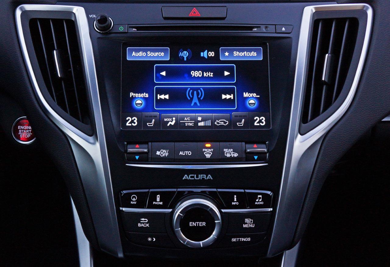 Acura TLX Elite L SHAWD Road Test Review CarCostCanada - 2018 acura tl remote start