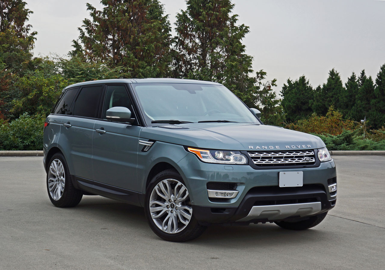 2015 land rover range rover sport hse road test review carcostcanada. Black Bedroom Furniture Sets. Home Design Ideas