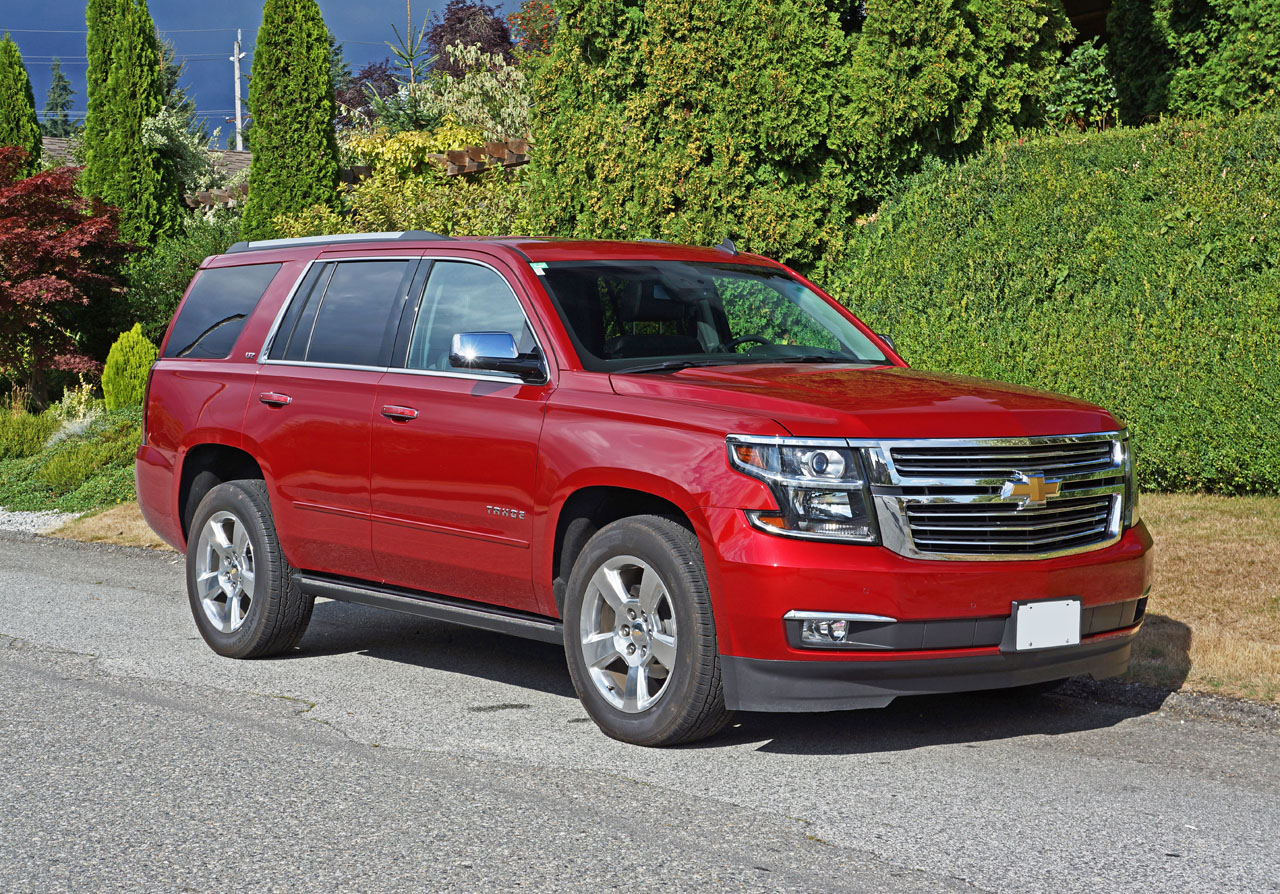 2015 chevrolet tahoe ltz road test review carcostcanada. Black Bedroom Furniture Sets. Home Design Ideas