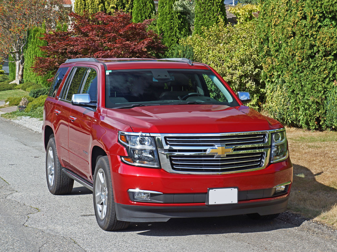 2015 Chevrolet Tahoe Ltz Road Test Review Carcostcanada Chevy