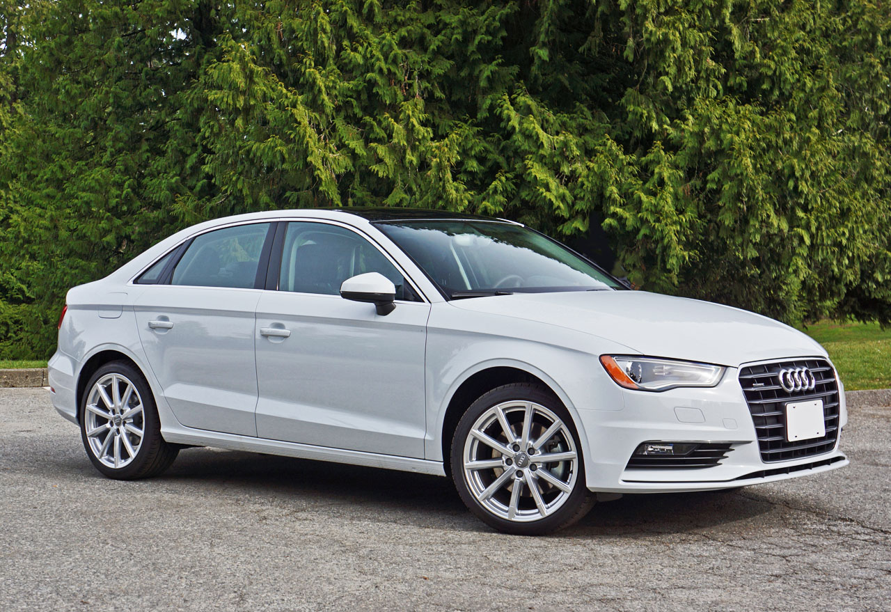 2015 Audi A3 Sedan 2.0 TFSI Quattro Road Test Review