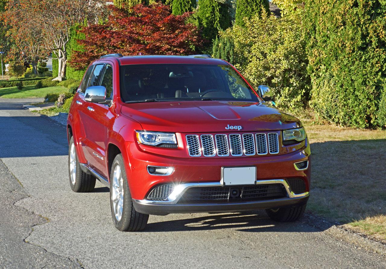 2015 Jeep Grand Cherokee Summit EcoDiesel 4x4 Road Test